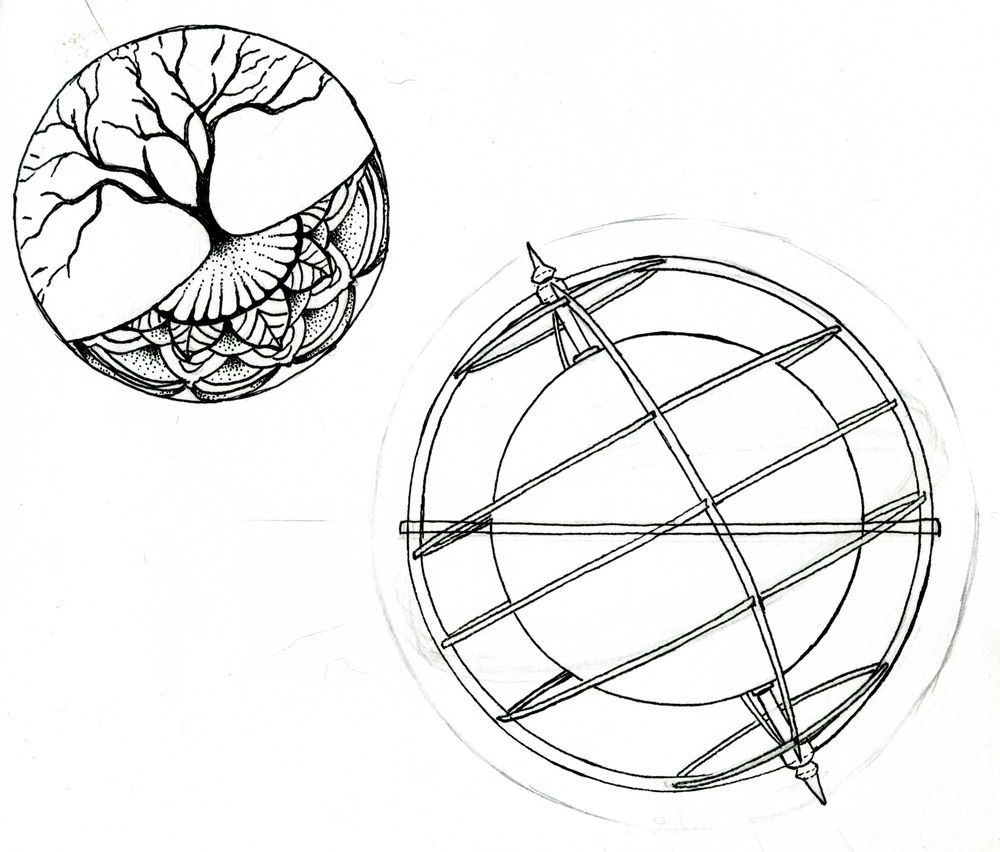 Tree of Life Globe - image 2 - student project