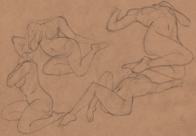 Week 9 - Gesture Drawing 'Compilations' - image 19 - student project