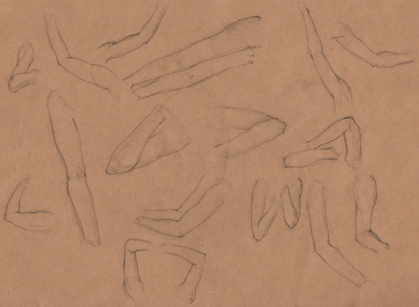 Week 9 - Gesture Drawing 'Compilations' - image 18 - student project