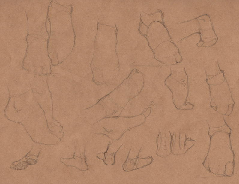 Week 9 - Gesture Drawing 'Compilations' - image 11 - student project