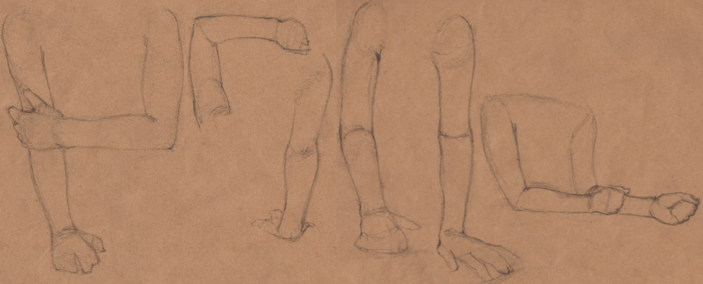 Week 9 - Gesture Drawing 'Compilations' - image 22 - student project