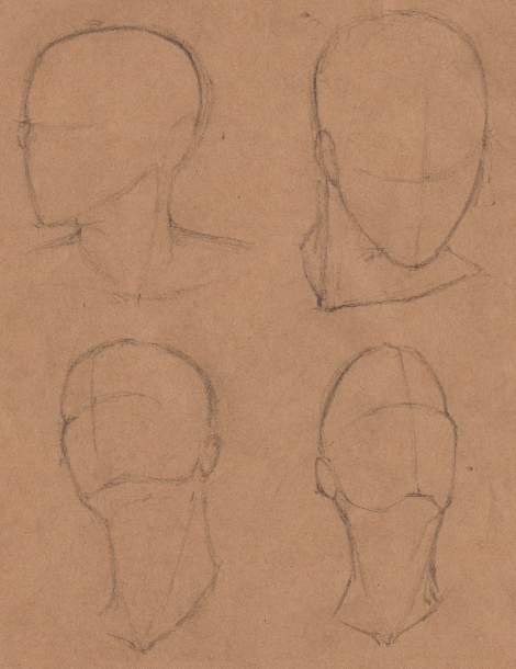 Week 9 - Gesture Drawing 'Compilations' - image 24 - student project