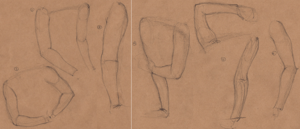 Week 9 - Gesture Drawing 'Compilations' - image 16 - student project