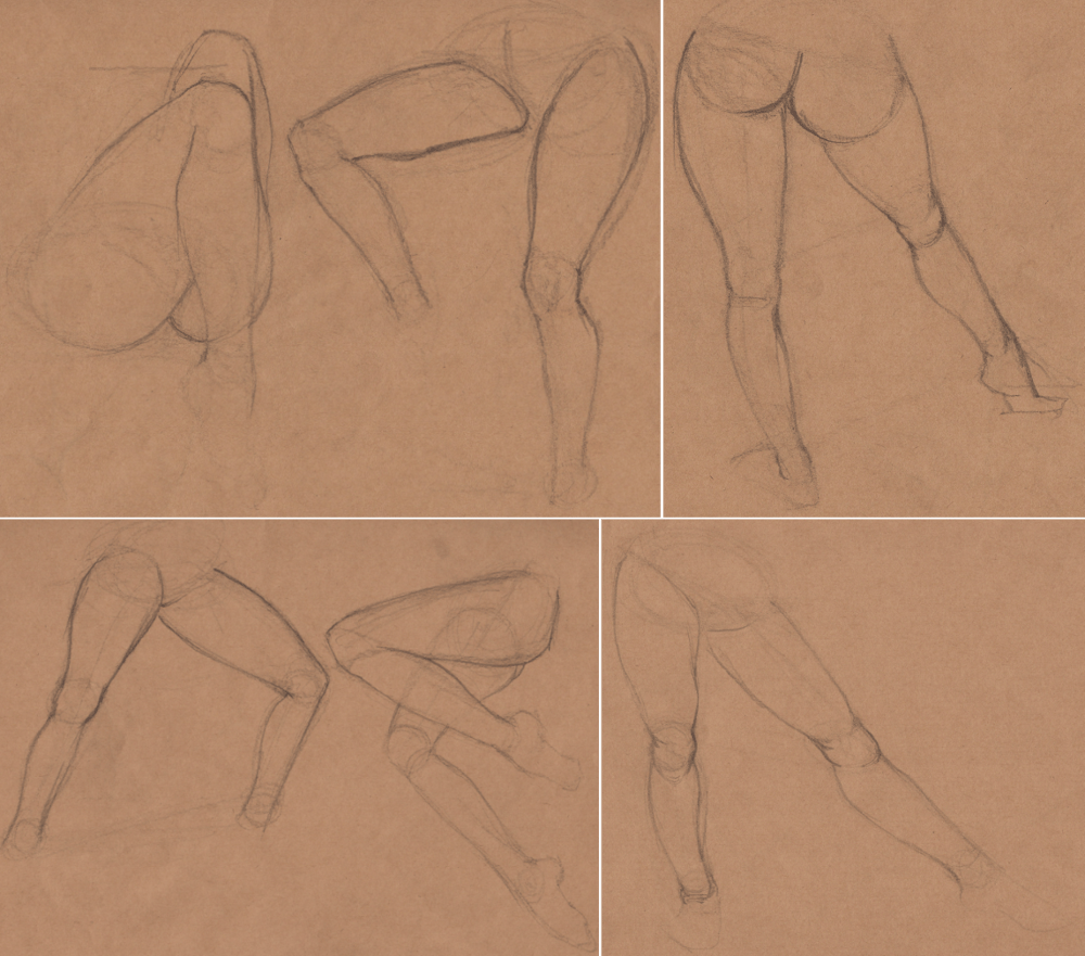 Week 9 - Gesture Drawing 'Compilations' - image 7 - student project