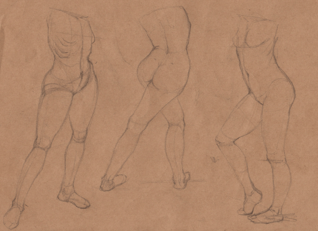 Week 9 - Gesture Drawing 'Compilations' - image 12 - student project