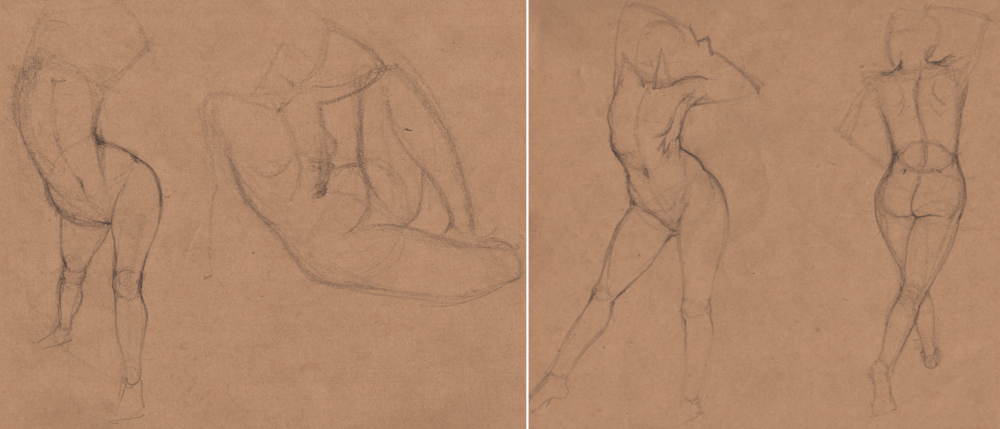 Week 9 - Gesture Drawing 'Compilations' - image 8 - student project