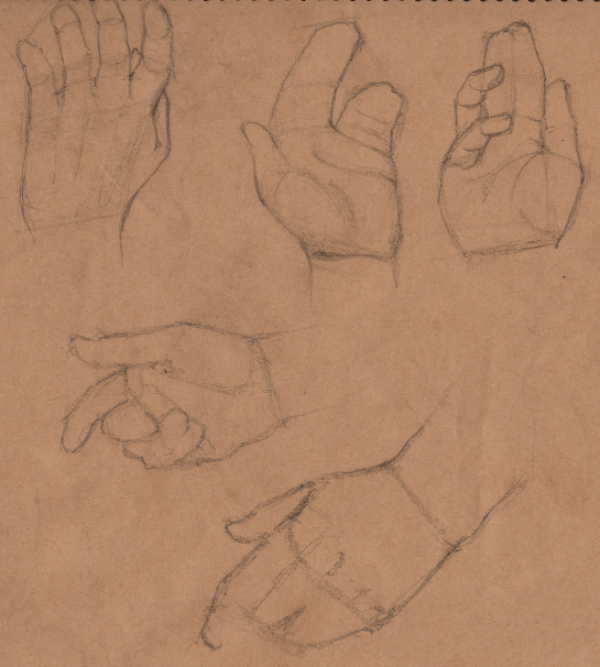 Week 9 - Gesture Drawing 'Compilations' - image 21 - student project