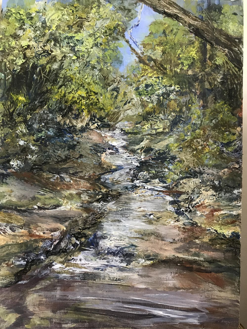 River View in Acrylics - image 1 - student project