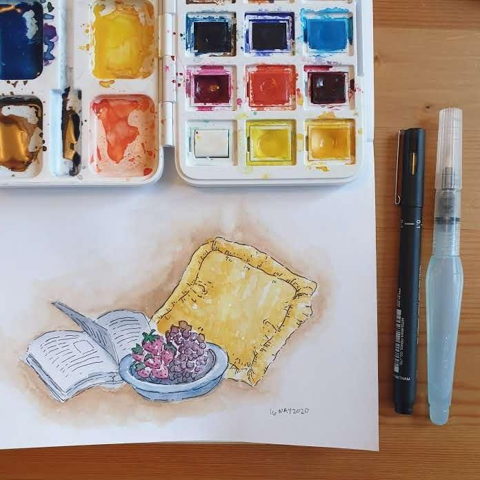 Discover your art style with Ria Sharon - image 2 - student project