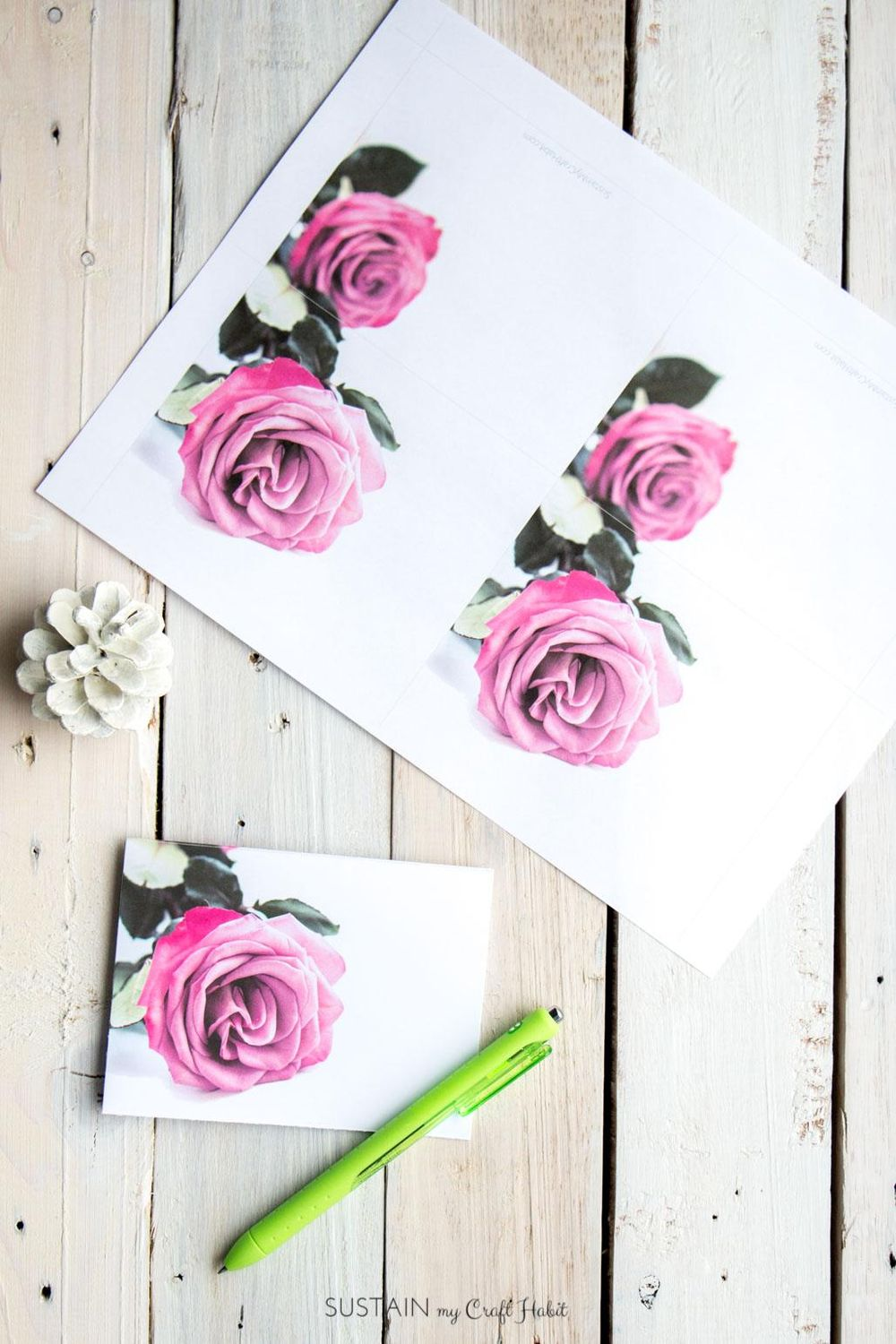 A New Greeting Card Template for Valentines: February Rose! - image 1 - student project