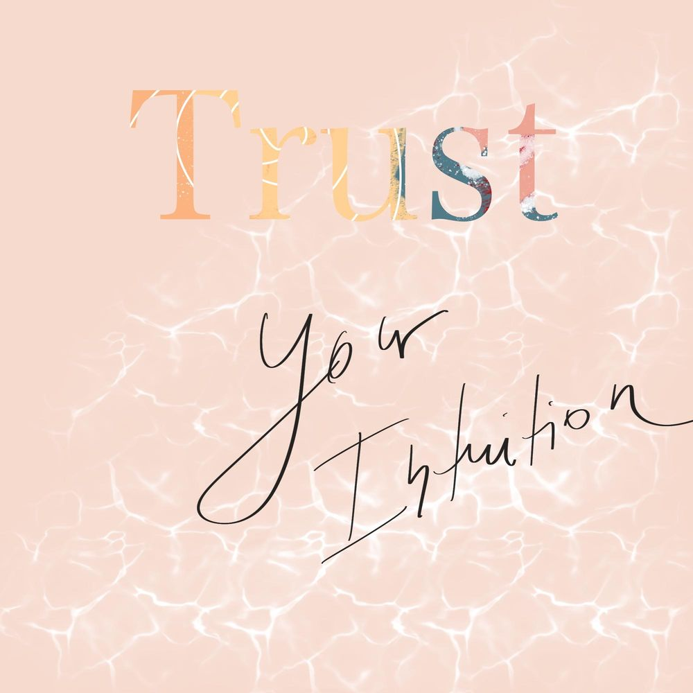 Trust your intuition - image 1 - student project