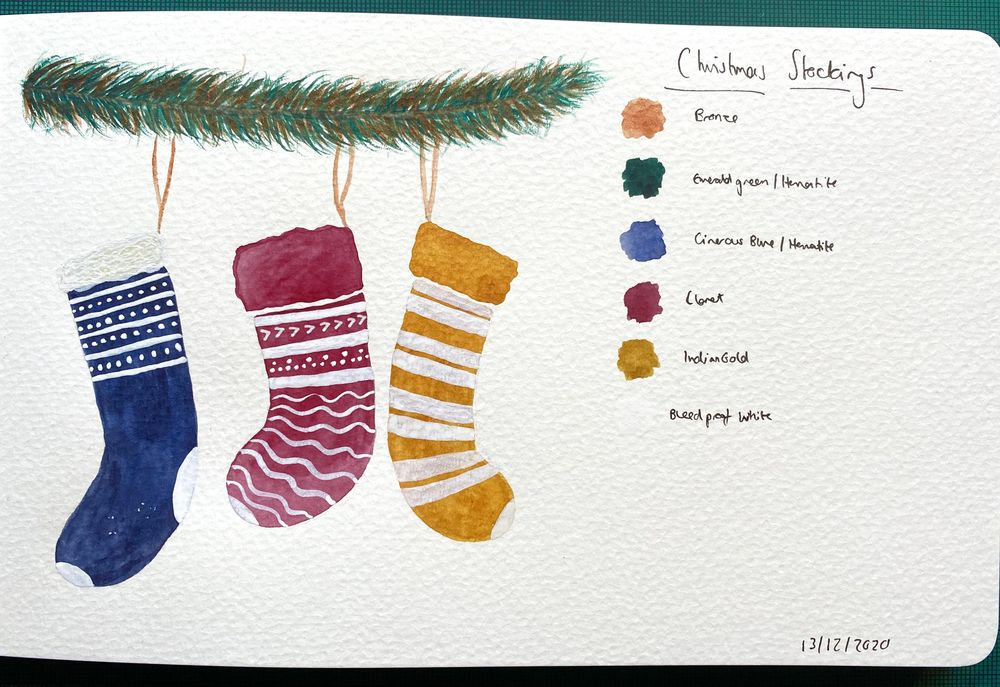 Christmas Illustrations - image 3 - student project