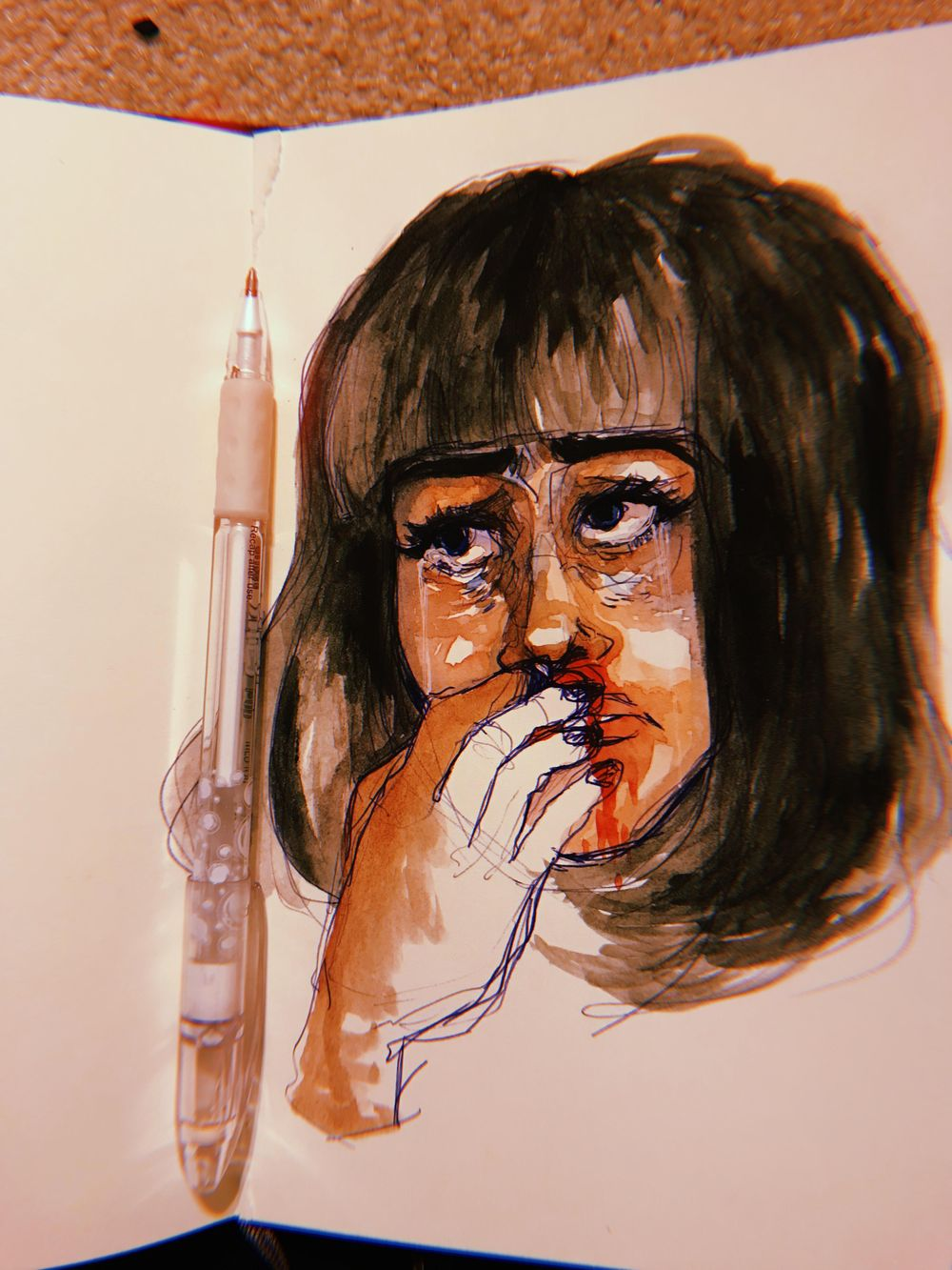 watercolor portraits - image 2 - student project