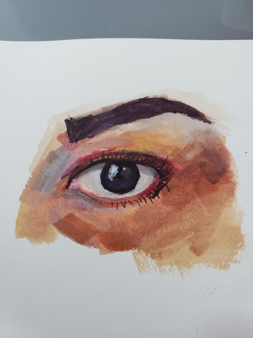 Guache Eye - image 1 - student project