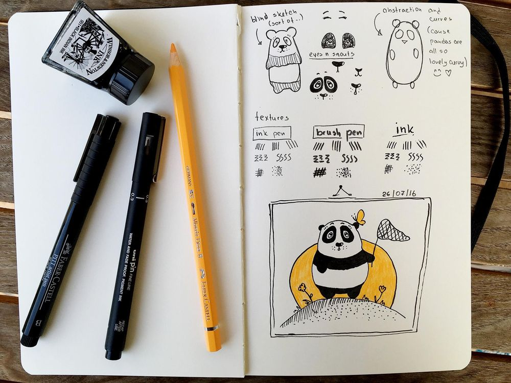 Little panda - image 1 - student project