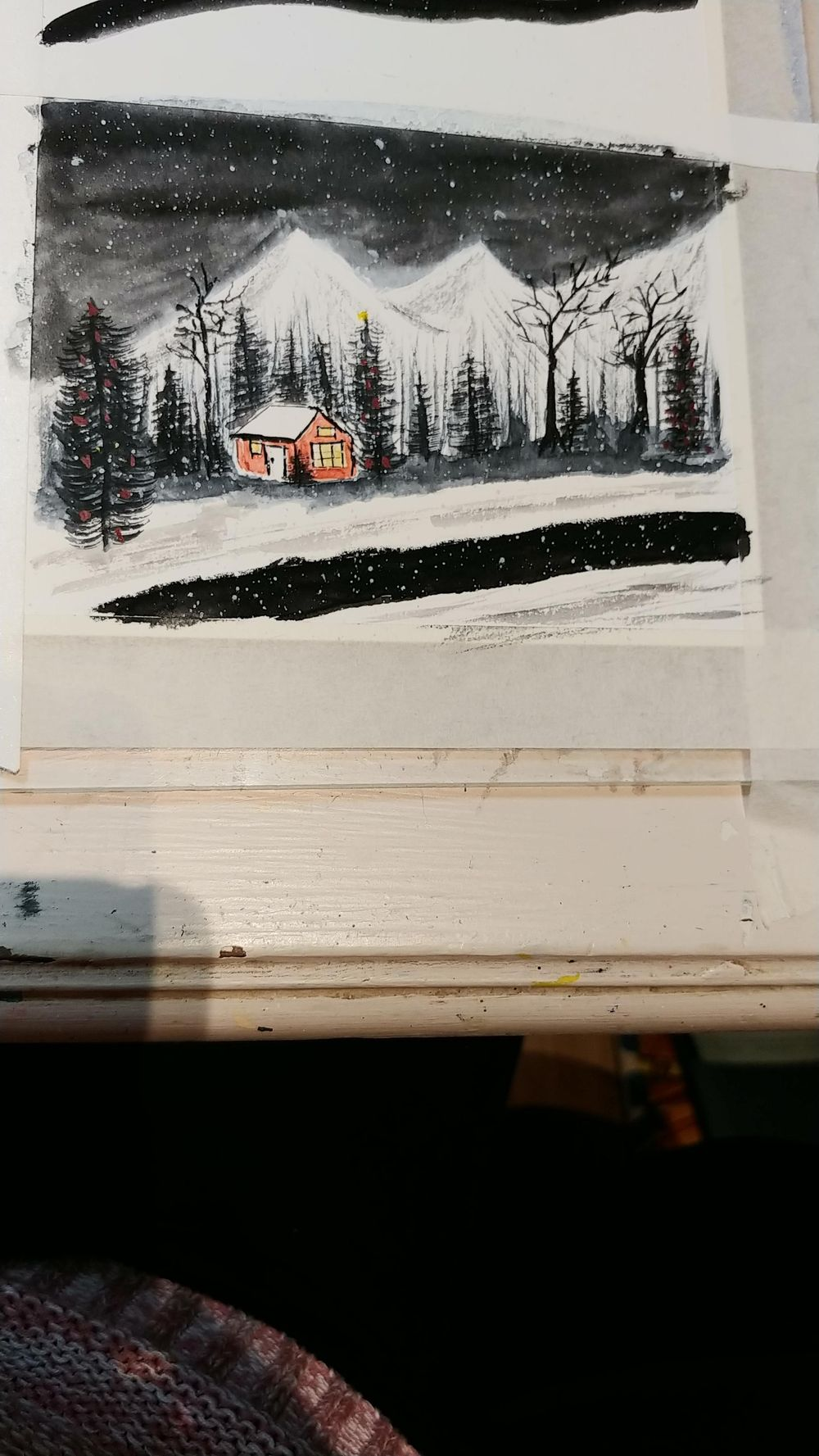 First winter scene - image 1 - student project