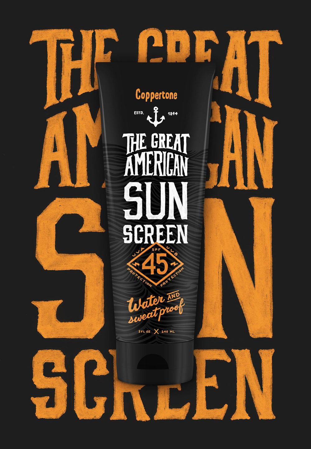 Sunscreen Label  - image 6 - student project