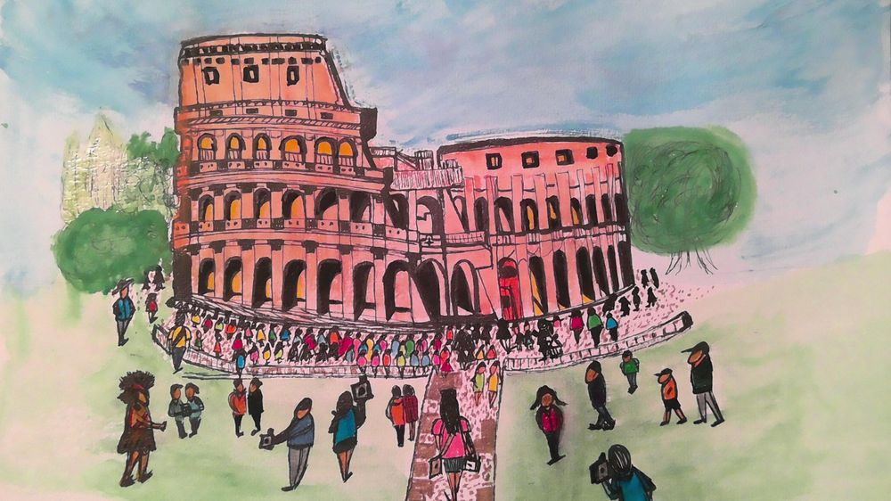 Colosseum Italy (Beginner) - image 1 - student project