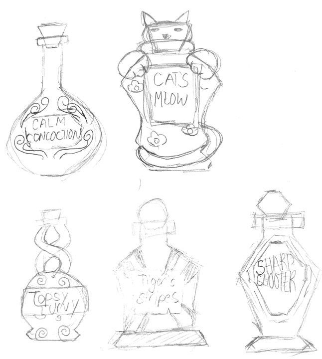 Potion Exercise - image 1 - student project