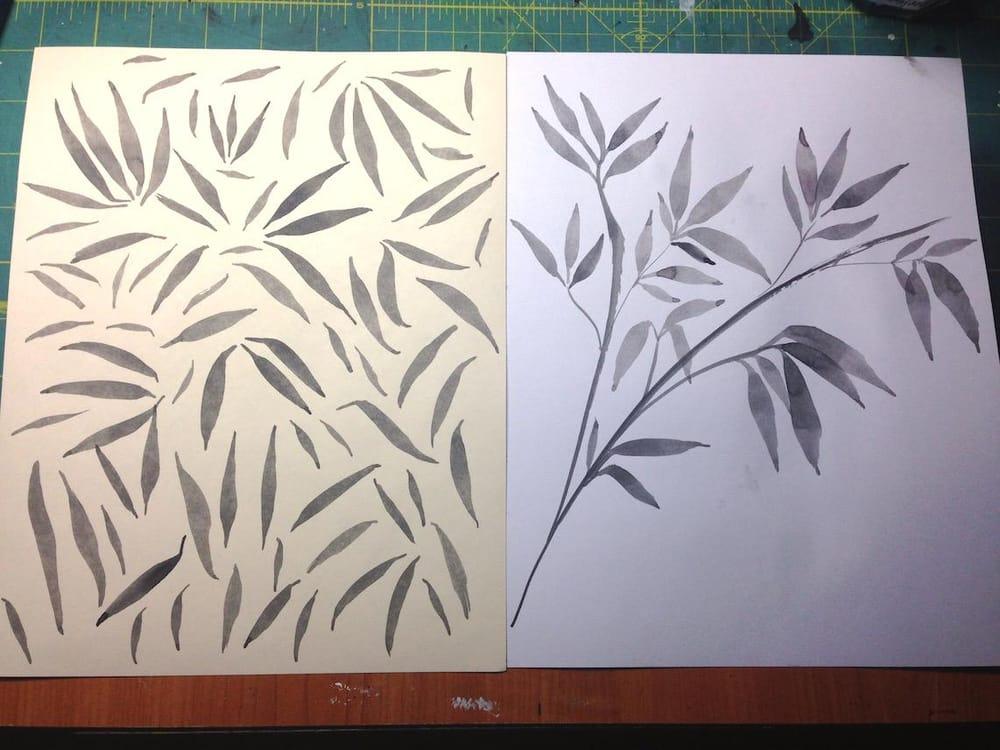 Expressive Brushwork - image 1 - student project