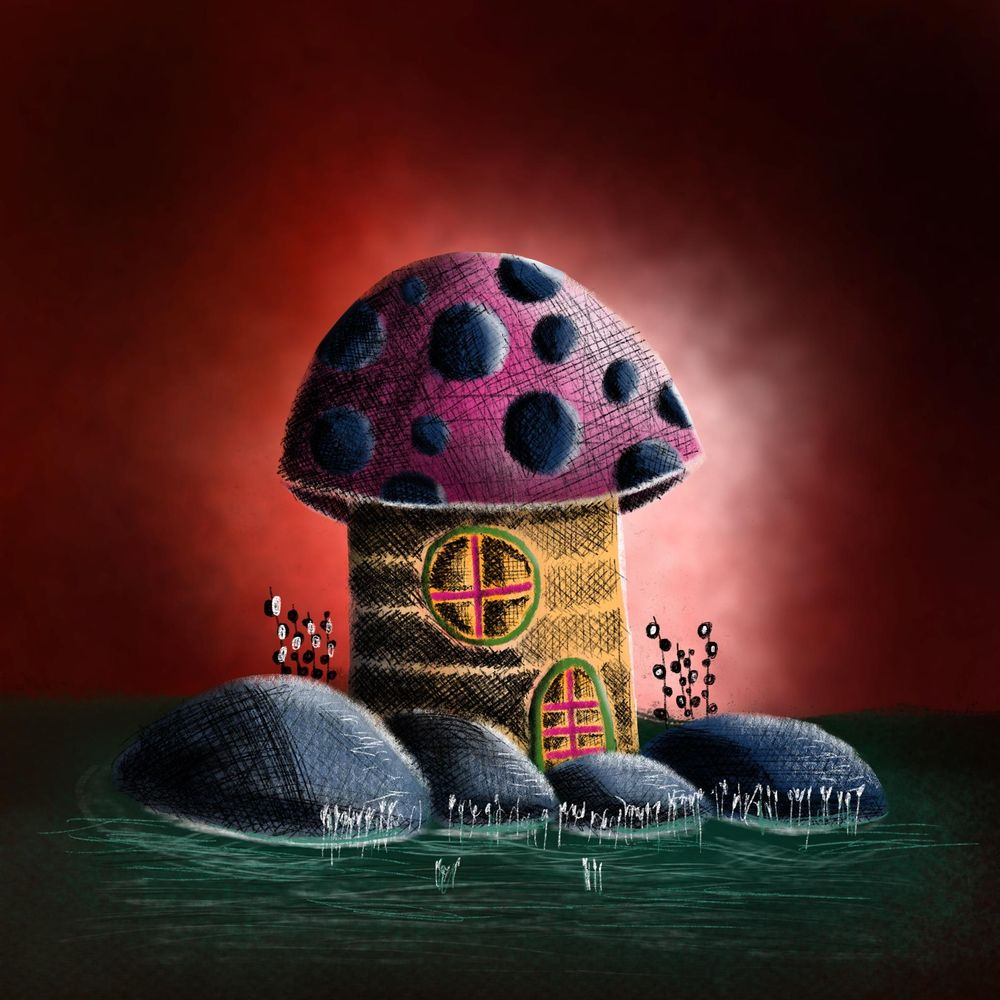 Mushroom house - image 3 - student project