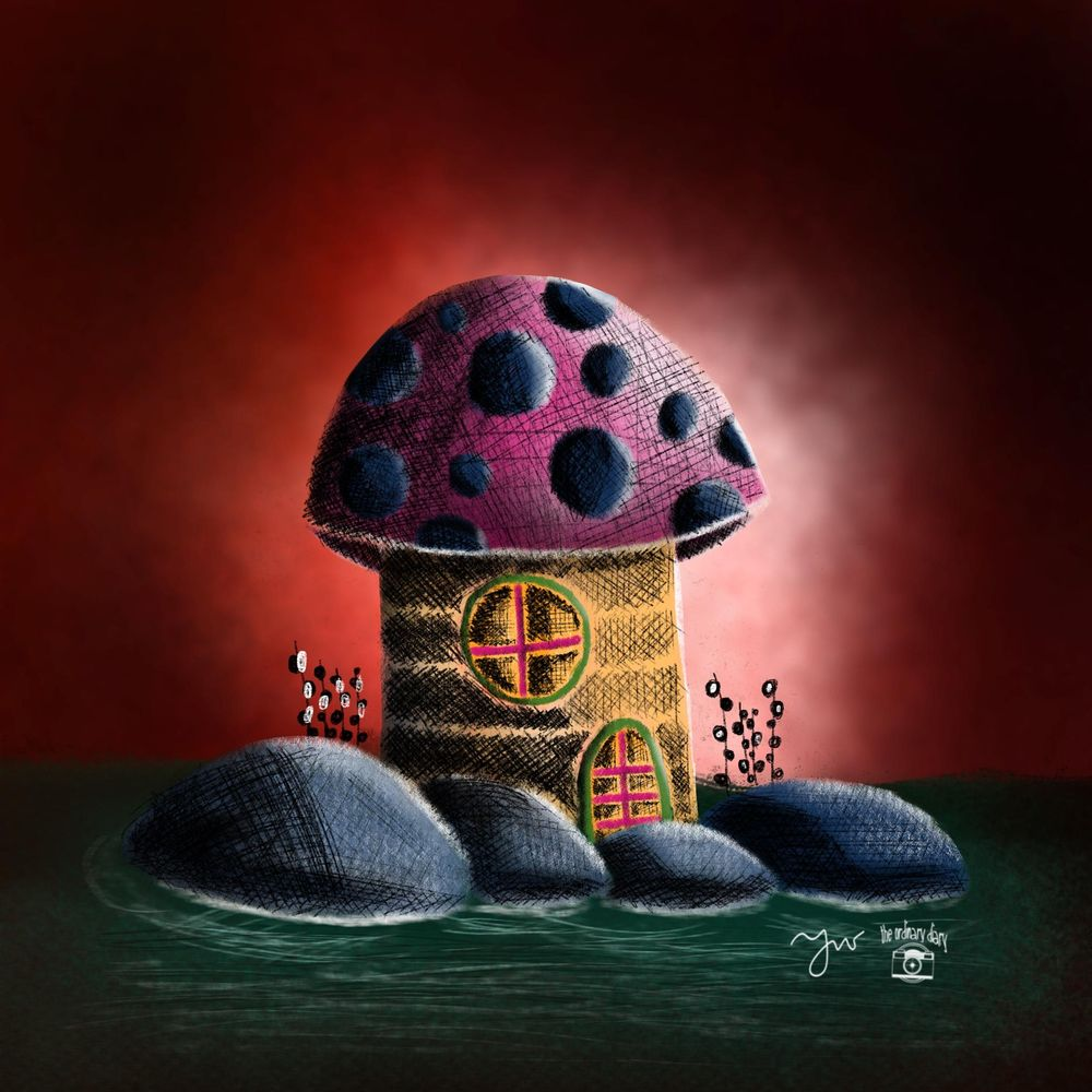 Mushroom house - image 4 - student project