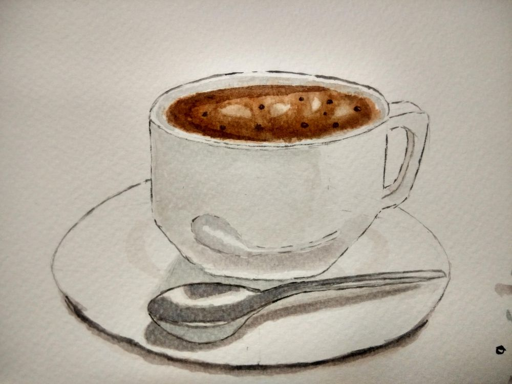 Coffee illustration  - image 3 - student project