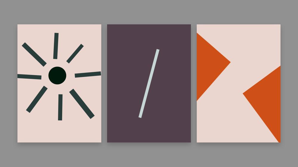 Explorative Design: Basic-shapes - image 1 - student project