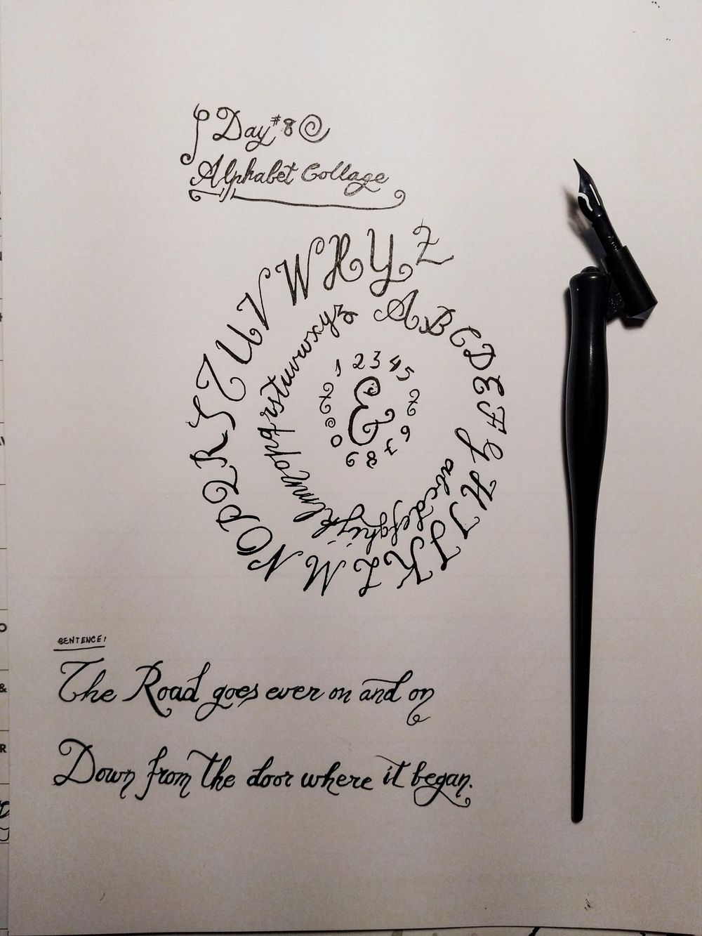 Ten-Day Calligraphy Challenge - image 5 - student project