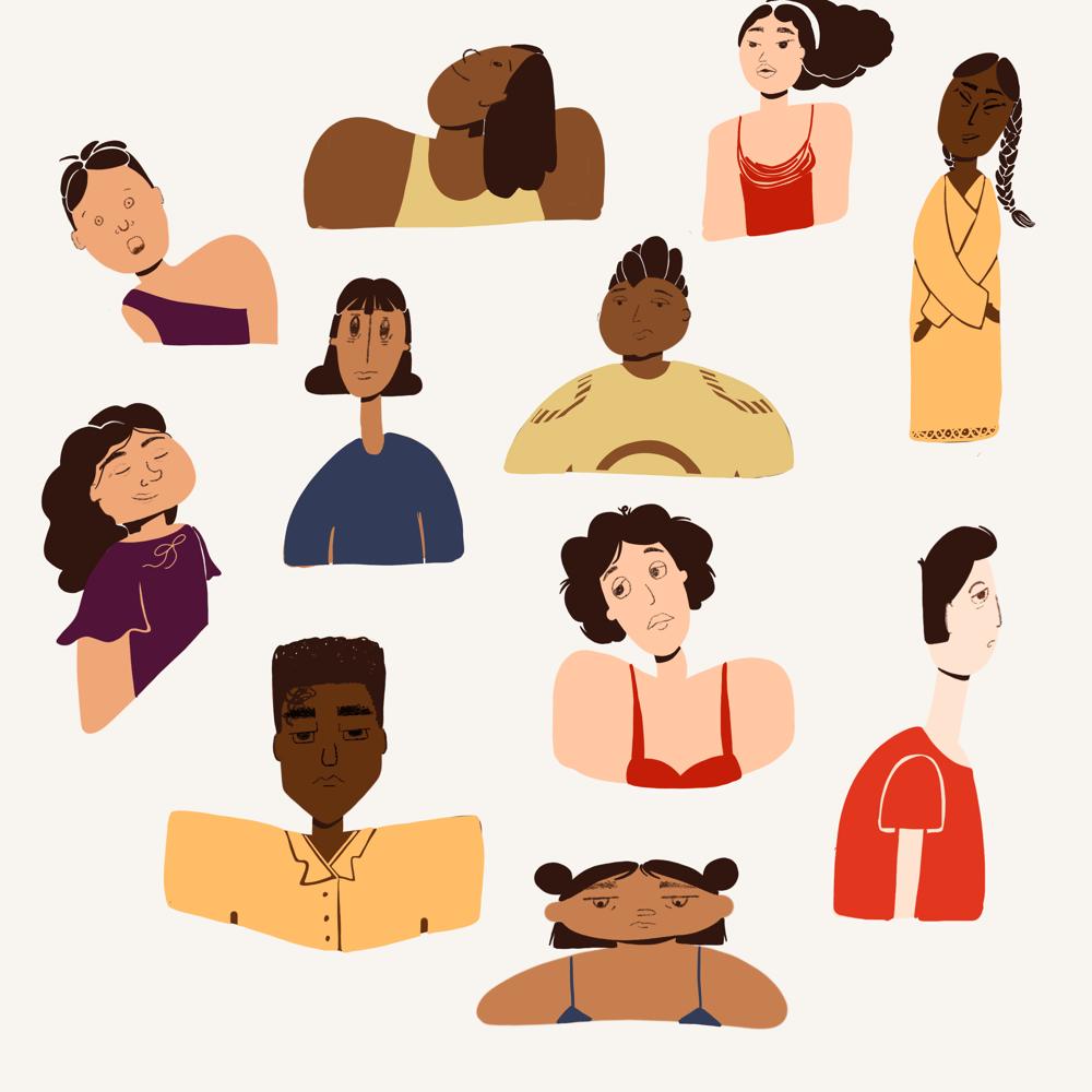 Unfamiliar faces - image 4 - student project