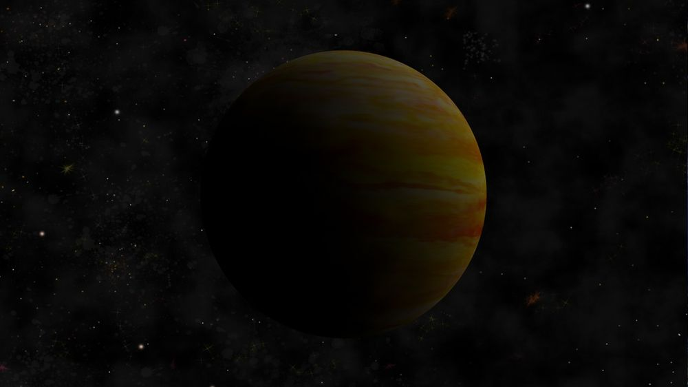 Gas Planet Stripes & Nebula Bookmark - image 2 - student project