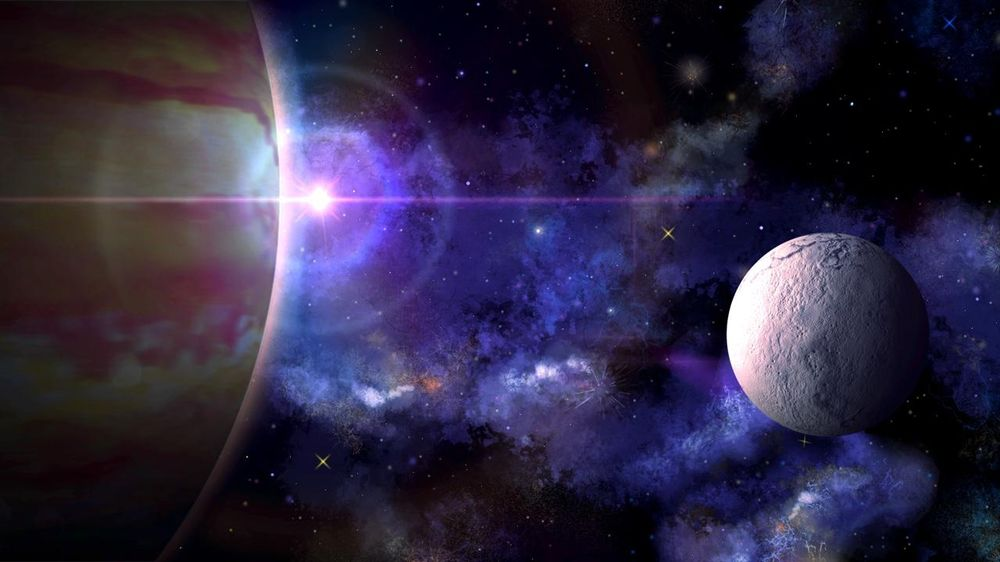 Gas Planet Stripes & Nebula Bookmark - image 3 - student project