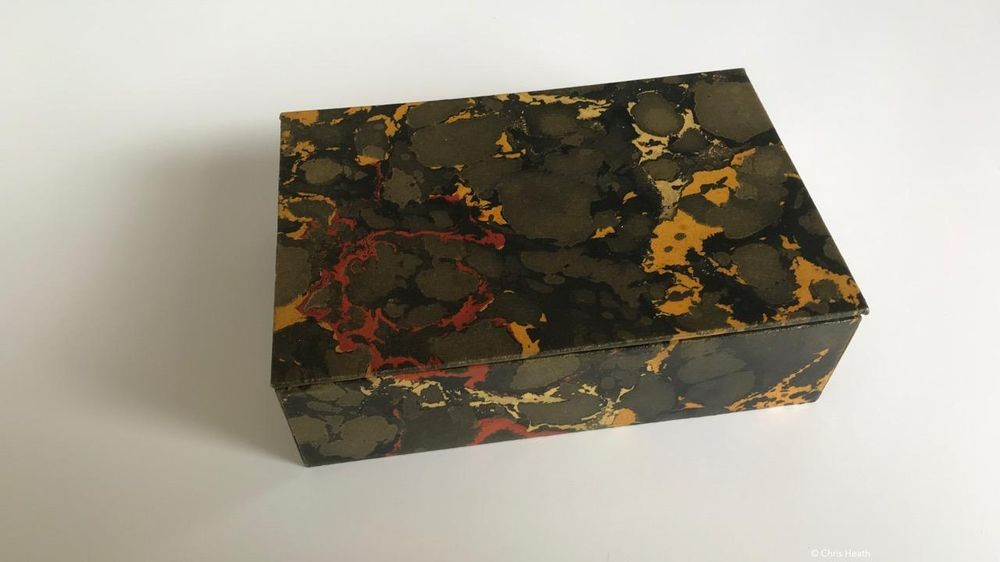 Marbling with Oil Colours - image 2 - student project