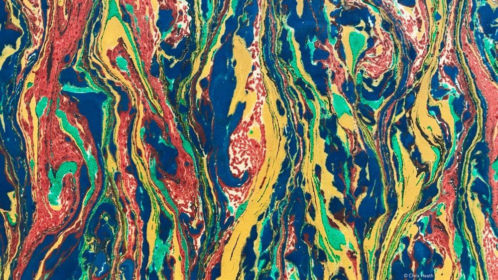 Marbling with Oil Colours - image 1 - student project