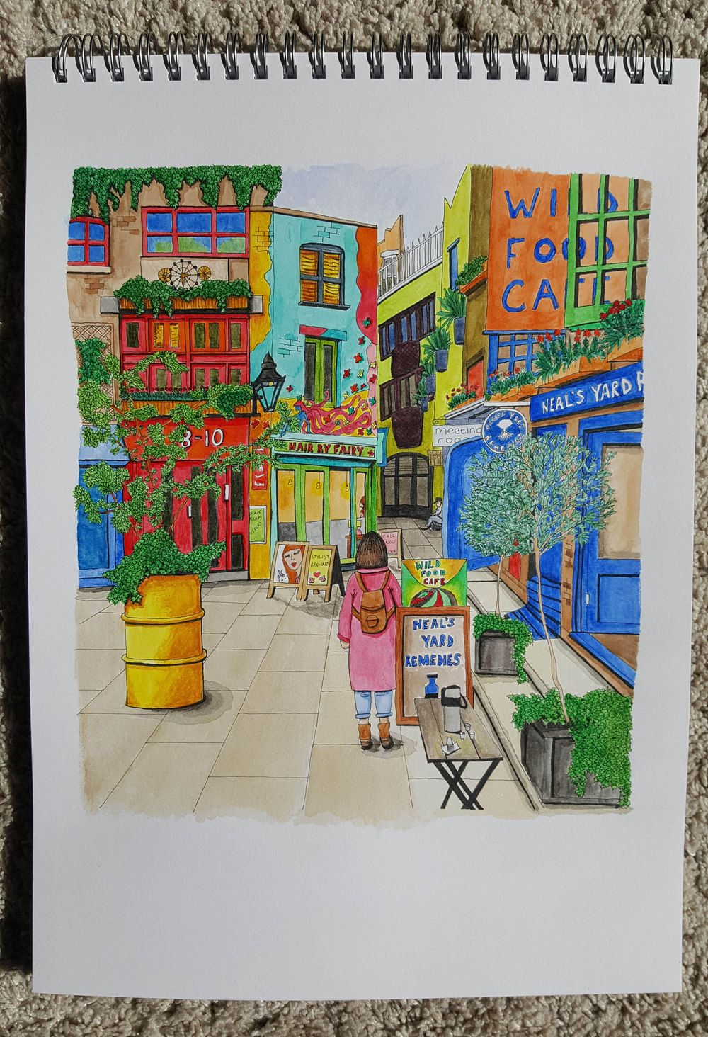 Neal's Yard, London - image 1 - student project