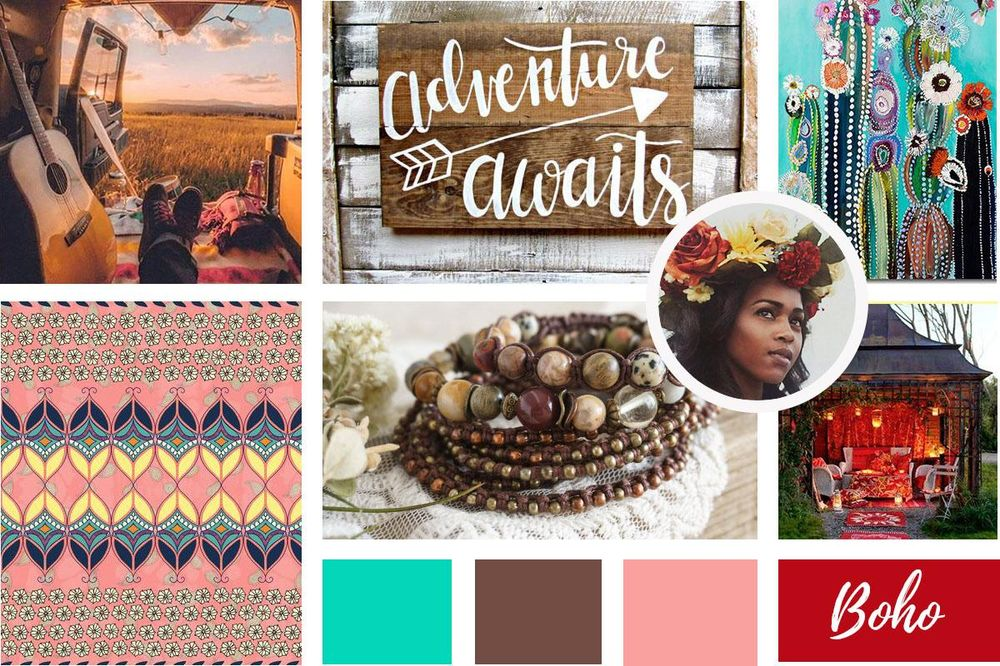 Color Inspiration Mood Board - image 2 - student project