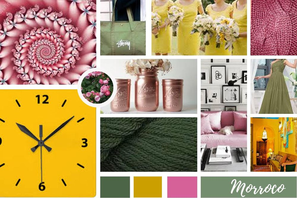 Color Inspiration Mood Board - image 1 - student project