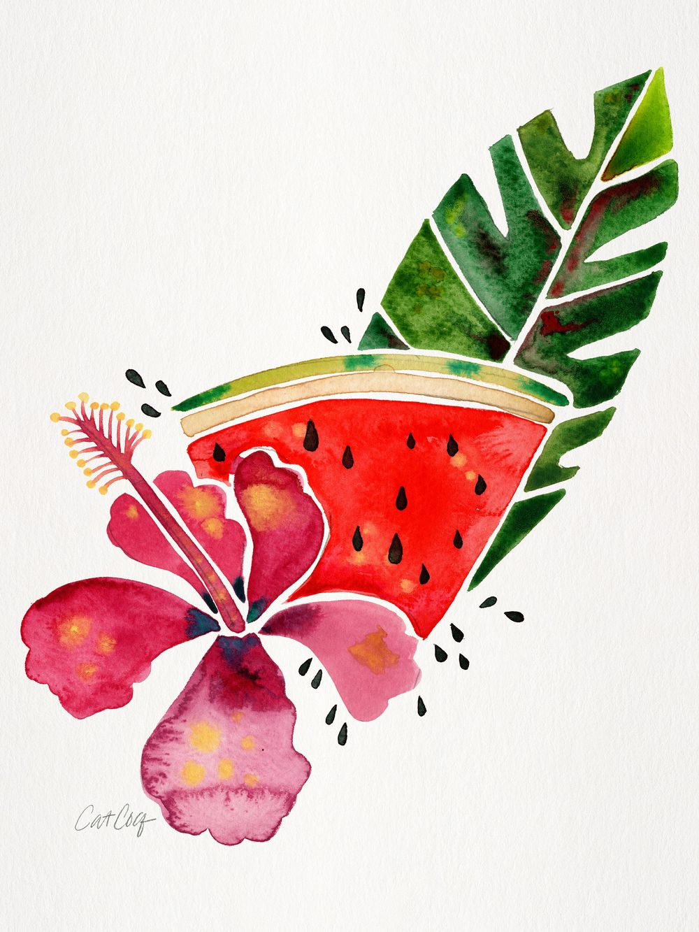 Fruits & Florals in Watercolor - image 1 - student project