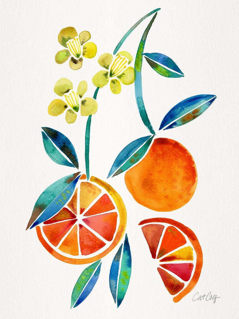 Fruits & Florals in Watercolor - image 2 - student project