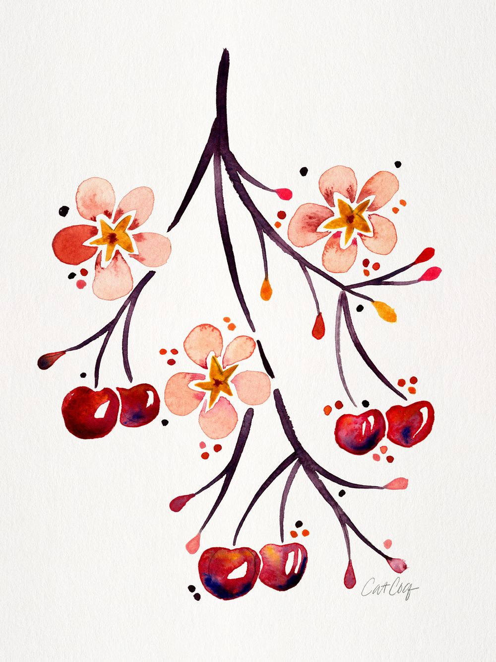 Fruits & Florals in Watercolor - image 3 - student project