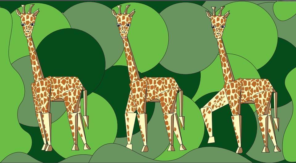 Giraffo - image 1 - student project