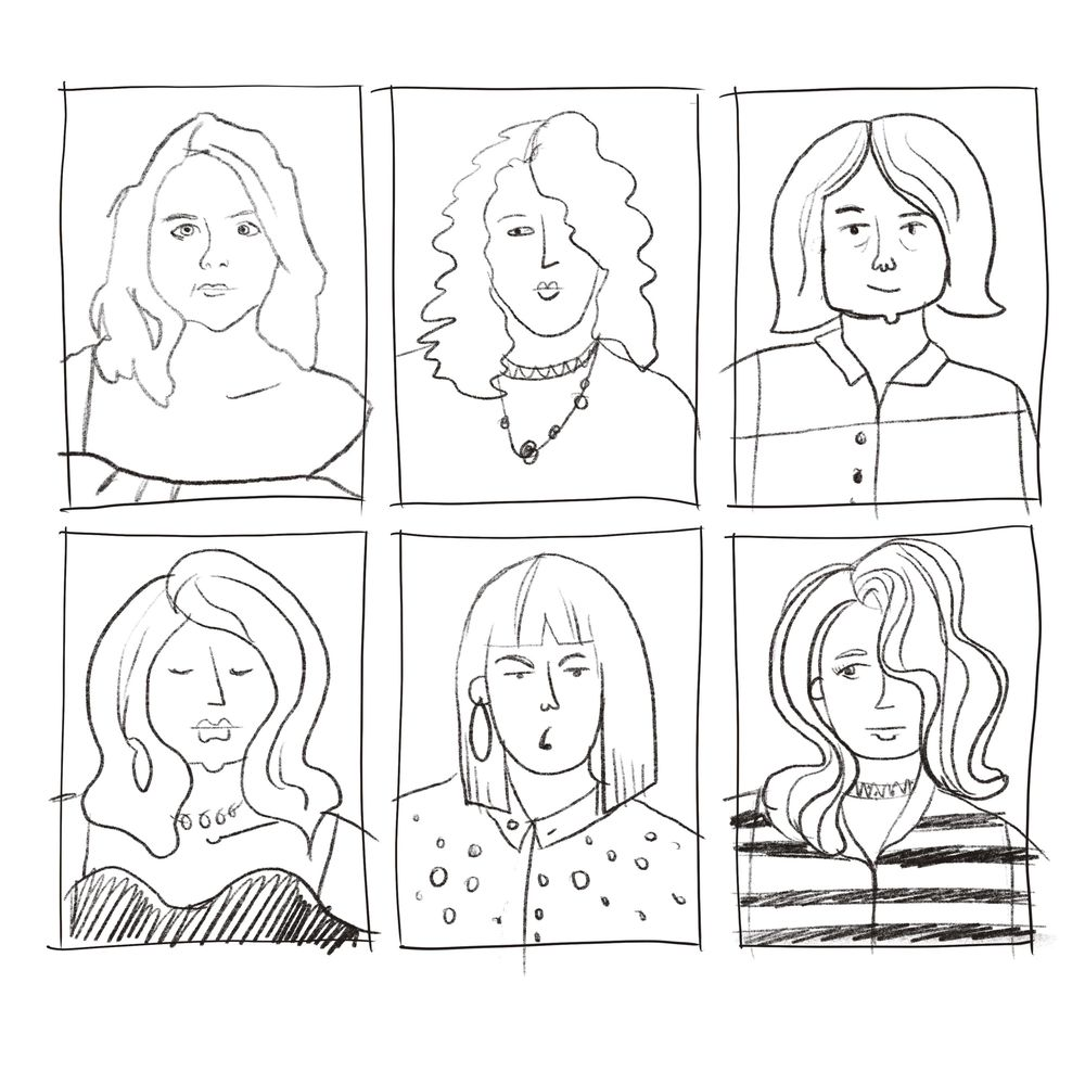 Faces exercise and final portrait - image 1 - student project