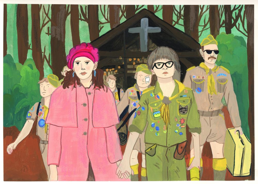 Moonrise Kingdom: Screencap Project - image 4 - student project