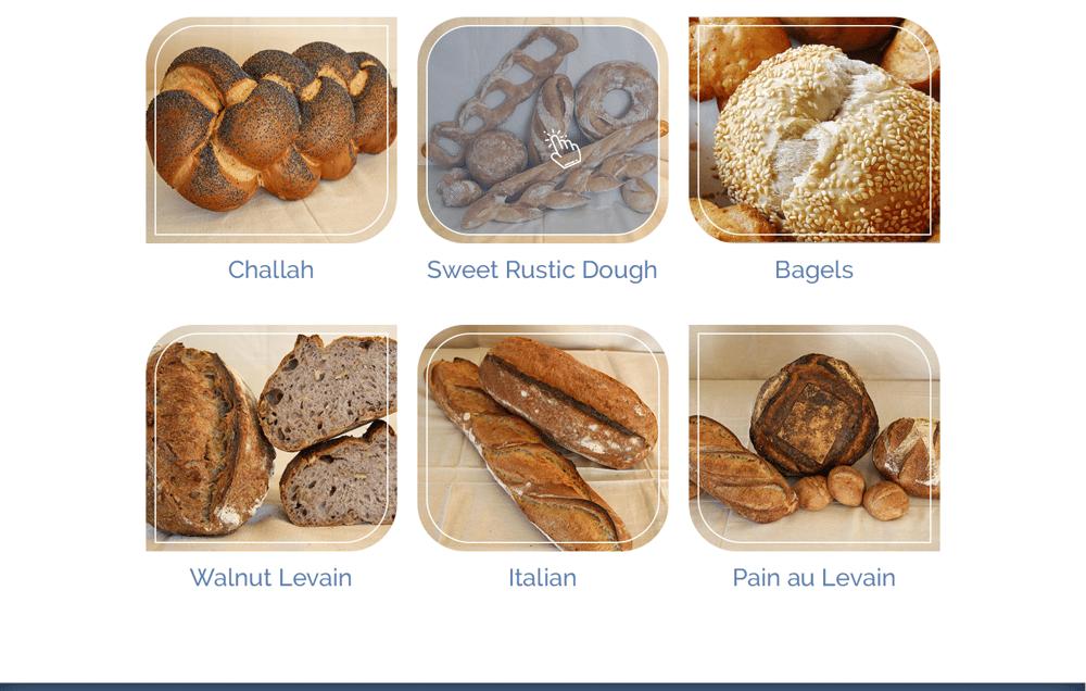 Everyday Bakery - Single Page Website (Photoshop) - image 3 - student project