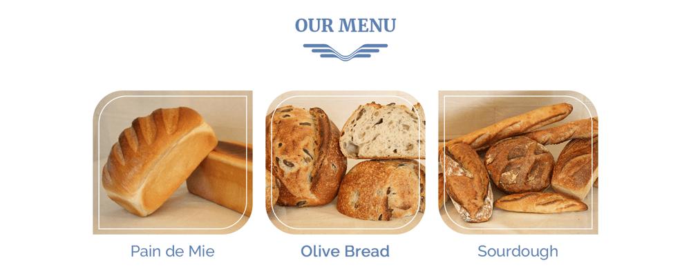Everyday Bakery - Single Page Website (Photoshop) - image 2 - student project