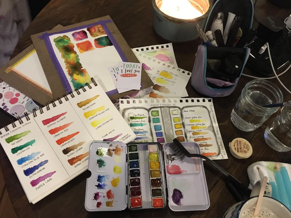 Friday Night Palette Prep - image 1 - student project