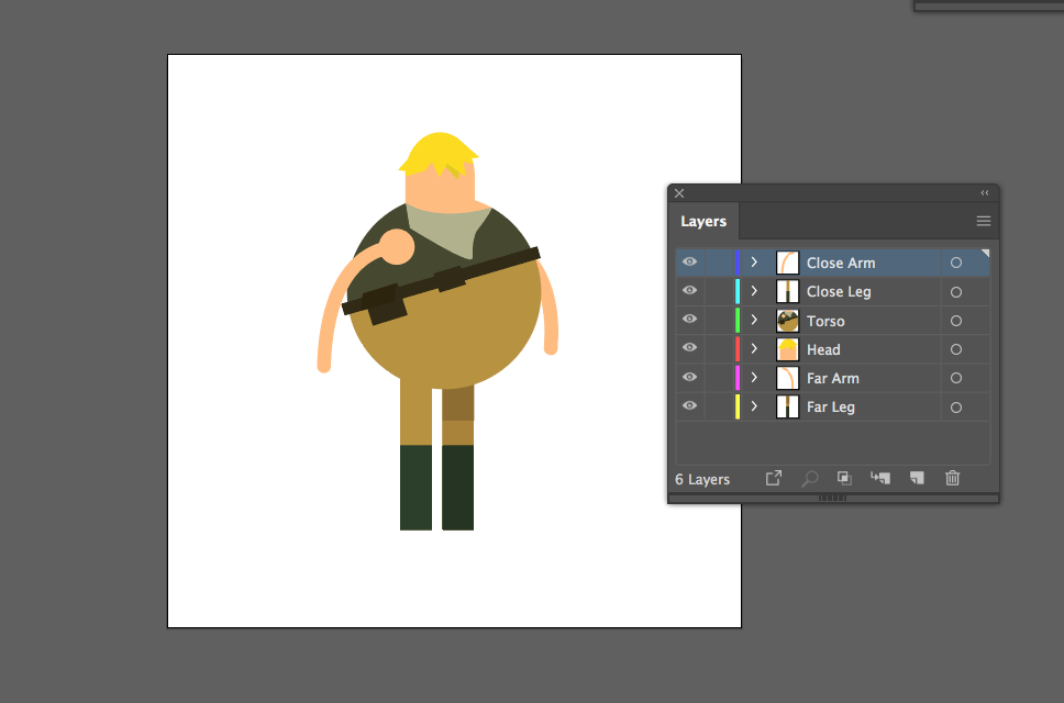Animated Character - image 2 - student project