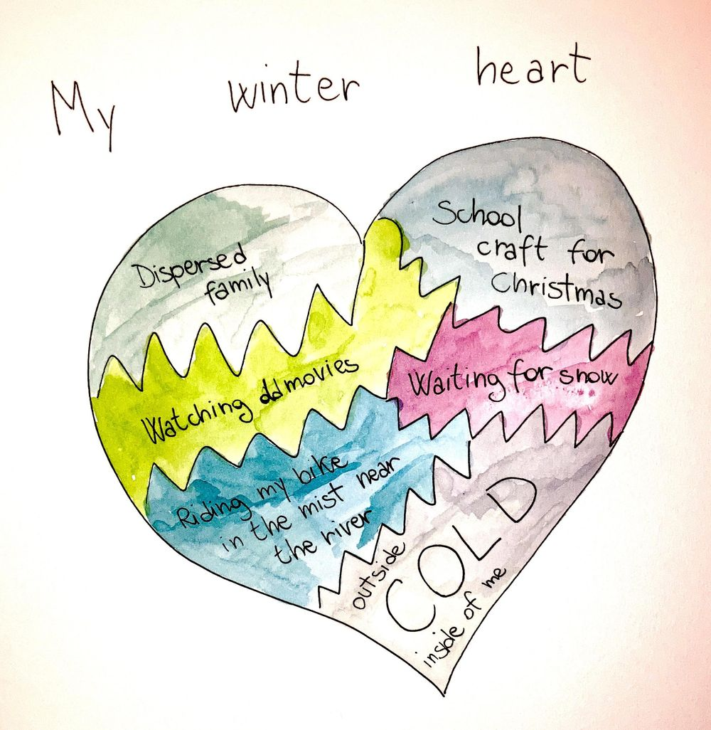 My winter heart - image 1 - student project