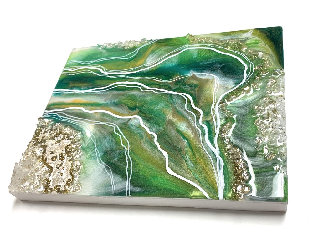 My First Geode Painting - image 1 - student project
