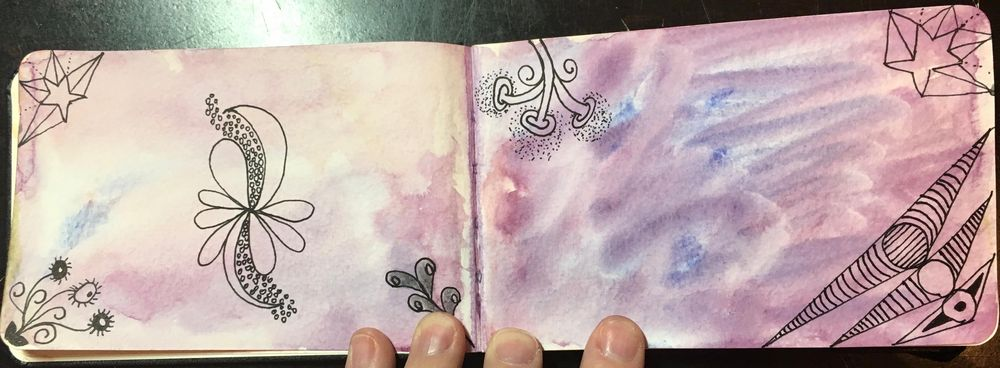 Watercolor Sketchbook Daily Practice - image 1 - student project